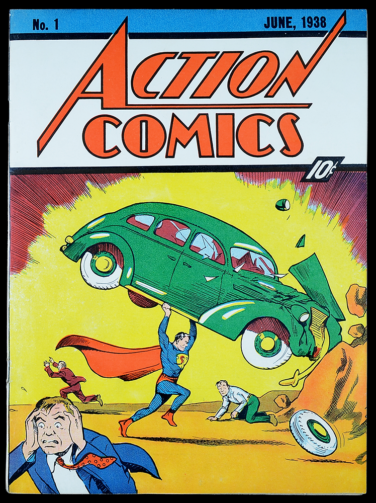 action comics, number one.